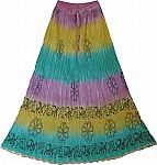 Fiesta Summer Long Skirt