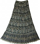 Womens Bohemian Long Skirt