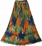 Sultry Summer Hippie Skirt
