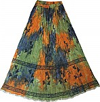 Long Summer Ladies Skirt