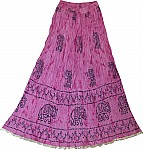 Summer Crinkle Full Skirt