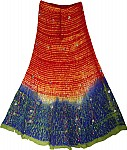 Ethnic Long Skirt with Sequins