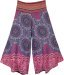 Summer Beach Boho Festival Clothing Wide Leg Pants