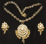 Ethnic Western Kundan Set with Stones