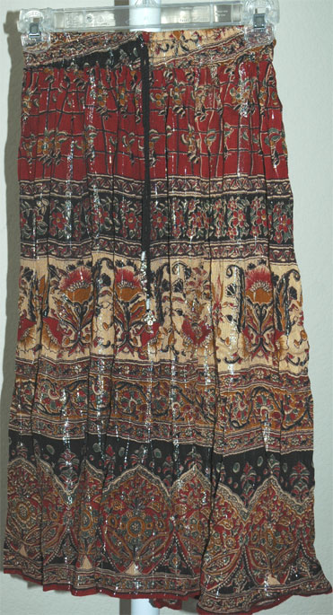 Bohemian Gypsy Ethnic Printed Short Skirt