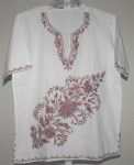 Kashmiri Hand Embroidery Tunic and Shirt