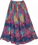 Cadillac Womens Long Skirt