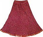 Night Shadz Crinkle Short Skirt