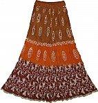 Long Batik Skirt