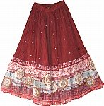 Lotus Bohemian Summer Skirt