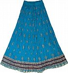 Cerulean Summer Tall Skirt