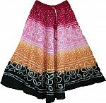Gypsy Boho Sequin Long Skirt