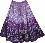 Bossanova Boho Tie Dye Skirts