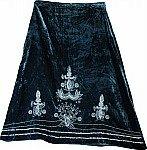 Tiber Rome Velvet Sequin Skirt