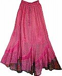 Romantic Womens Long Skirt