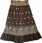 Birch Golden Bohemian Skirt