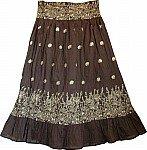 Birch Golden Bohemian Skirt