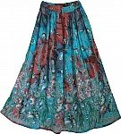 Pacific Blues Long Skirt