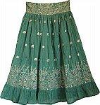 Como River Bohemian Skirt