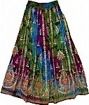 Evening Shaded Sequin Skirt