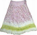Lily Gypsy Silk Long Skirt