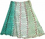 Keppel Ethnic Silk Skirt