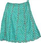 Puerto Rico Festive Silk Skirt