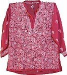 Turkish Rose Ladies Tunic Top