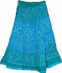 Ethnic Indian Cotton Long Skirt