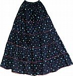 Tundora Hippie Cotton Long Skirt