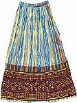 Festival Long Ethnic Skirt