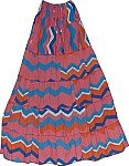 Cadillac Long Peasant Skirt