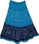 Oceanic Ethnic Cotton Skirt