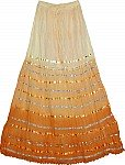 Raw Sienna Sequin Skirt