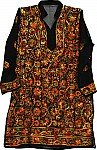 Embroidered Tunic Top Fall Shirt