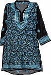 Sequined Ladies Tunic w/ Scarf