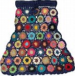 Pickled Bluewood Crochet Cotton Skirt