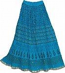 Bondi Blue Summer Skirt