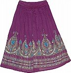 Finn Sequin Skirt