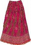 Shiraz Festive Crinkle Skirt