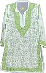 Embroidered Tunic Top Summer Shirt