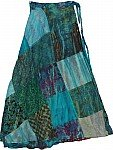 San Juan Patchwork Wrap Around Skirt