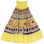 Finn Goldenrod Yellow Smock Skirt