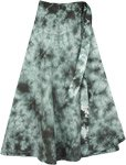 Como Tie Dye Calf Length Skirt
