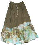 Hemlock Tobacco Tie Dye Countryside Skirt