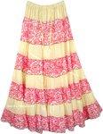 Sandwisp Broomstick Skirt Summer Frill