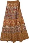 Rope Bohemian Wrap Around Long Skirt