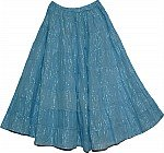 Horizon Tinsel Cotton Skirt
