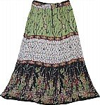 Gypsy Printed Trendy Long Skirt