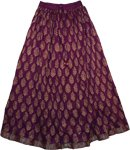 Eminence Crinkled Cotton Skirt